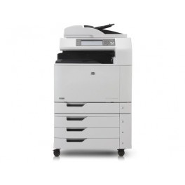 Impresora multifunción HP Color LaserJet CM6040 base