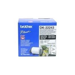 Cinta continua de papel blanca Brother DK-22243