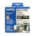 Rollo de etiquetas precortadas Brother DK-11218