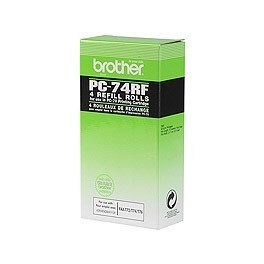 Recambio 4 bobinas Brother PC-74RF
