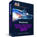Bitdefender Total Security Multi-Device 2017 PARA 5 USUARIOS 1 AÑO