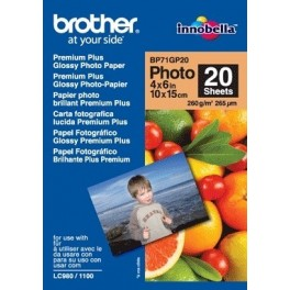 Papel fotografico Brother BP71GP20