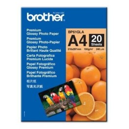 Papel foto glossy Brother BP61GLP