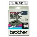 Cinta laminada transparente Brother TX-141
