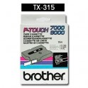 Cinta laminada negra Brother TX-315