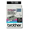 Cinta laminada negra Brother TX-335