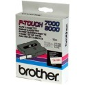 Cinta laminada blanca Brother TX-232