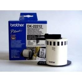 Cinta continua de pelicula plastica Brother DK-22212