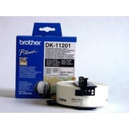 Rollo de etiquetas precortadas Brother DK11201